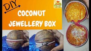 COCONUT JEWELLERY BOX    COCONUT POUCH    DIY VIDEOS