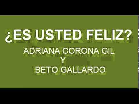 ADRIANA CORONA GIL Y BETO GALLARDO ENTREVISTA EL 1 FEBRERO 2013