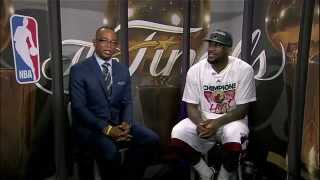 King James Talks On His First NBA Title - SportsCenter (06-21-2012)