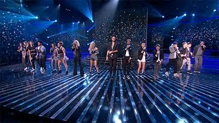 The Final 12 sing Emeli Sande's Read All About It - Live Week 1 - The X Factor UK 2012