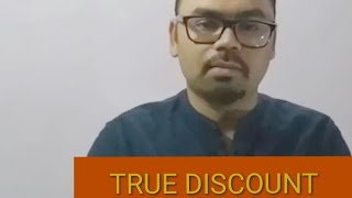 Banker's discount and true discount by sarjit sinha