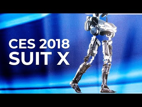 CES 2018 Suit X Exoskeleton at the Consumer Electronics Show