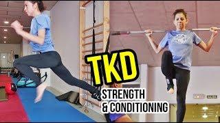 Taekwondo Strength & Conditioning Workout | Training in Madrid