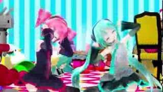 【第12回MMD杯本選】Miku Hatsune & Kasane Teto - Viva Happy (ビバハピ)【VOCALOID】