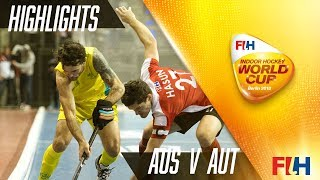 Australia v Austria - Match Highlights Indoor Hockey World Cup - Men