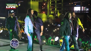 BOB Marley family LIVE onstage 2017