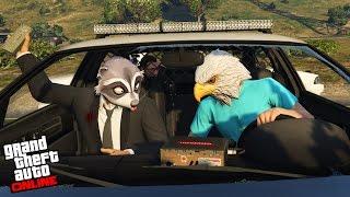 GTA V - Online -  Easter Egg do Canal do Excelência! E bagunça na Sessão!