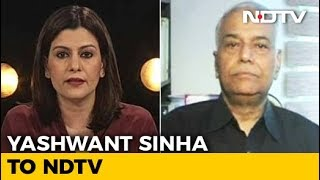 Seems PM Rode Roughshod Over Procedure For Rafale Deal: Yashwant Sinha