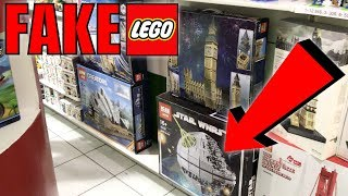 LEPIN (FAKE LEGO) IN THE USA!! | WTF Have I Found? | Fake LEGO Store! (Illegal?)