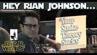 JJ Abrams vs Rian Johnson and the battle to