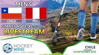 Chile v Peru | 2018 Men's Hockey Series Open | FULL MATCH LIVESTREAM