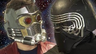 KYLO REN vs STAR LORD - Epic Rap Battle!!! Star Wars VS Guardians of the Galaxy