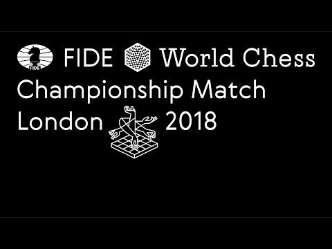 Xxx Mp4 World Chess Championship 2018 Day 6 First Moves 3gp Sex