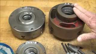 SHOP TIPS #213 Part 1 of 2 Fitting a Backing Plate to a Lathe Chuck tubalcain