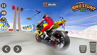 EXTREME BIKE STUNTS GAME 2019 #Dirt MotorCycle Stunt Game #Bike Games 3D For Android #Games For Kids