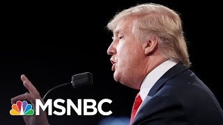 Post-Debate Donald Trump: I Won't Contest Election Results If I Win | Andrea Mitchell | MSNBC
