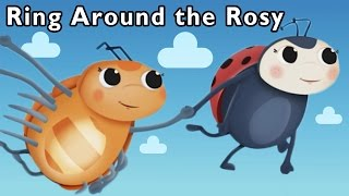 Bug Dance Game | Ring Around the Rosy and More | Mother Goose Club Playhouse Kids Song