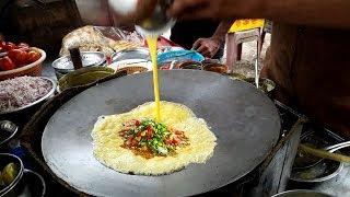 Vijay Omelette Center : Egg Paplet || Surti Egg Dishes || Butter Cheese Egg