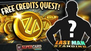 FREE CREDITS QUEST!! 😱 NEW EVENT CARD?   WWE SuperCard S5