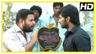 Vadacurry Tamil movie climax scene   Sai Prasanth arrested   Jai tries convincing Swathi