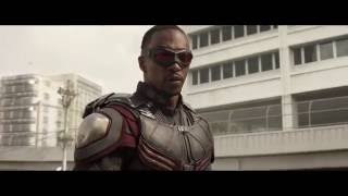Captain America  Civil War - Falcon Scenes, Falcon And Bucky (HD) (1280x720)