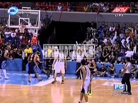 James Yap Lands a right hook on Jireh Ibanes