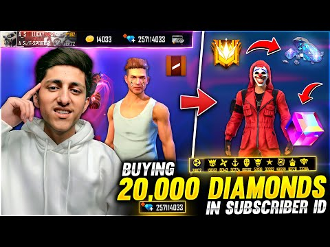 My Birthday Special Buying 17 000 diamonds & Dj Alok💎 In Subscriber Id Garena Free Fire