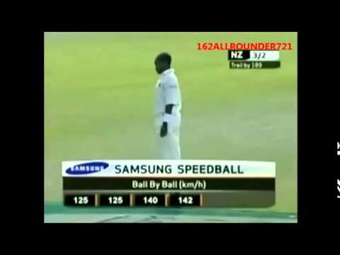 FIDEL EDWARDS THE FASTEST WEST INDIAN BOWLER