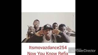 Nyashinski-Now you know [Choreography by MovazDanceKenya]