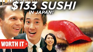$1 Sushi Vs. $133 Sushi • Japan
