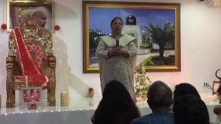Guruji Satsang on 11th Aug 2016 - Jai Guruji!