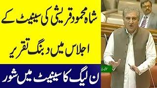 Shah Mehmood Qureshi Today Speech In Senate - 8 October 2018