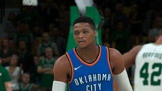 NBA Today 3/20 OKC Thunder vs Boston Celtics Full Game NBA Highlights   Thunder vs Celtics NBA 2K18