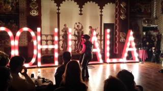 Seduction Burlesque Tango Fusion, Michael Saltus, Kassaundra Stephens