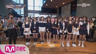 [Mini Fanmeeting with TWICE] KPOP TV Show | M COUNTDOWN 170518 EP.524