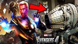 Avengers 4 PROTON CANNON CONFIRMED! - THIS IS HOW IRONMAN DEFEATS THANOS