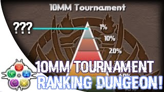 10MM Tournament! - Ranking Dungeon - Puzzle & Dragons - パズドラ