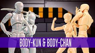 Body Kun y Body Chan - S.H.Figuarts | Out of da Box