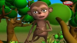 The Monkey Kings Great Sacrifice   ગુજરાતી વાર્તાઓ   3D Moral Stories For Kids in Gujarati