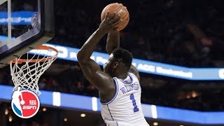 Breaking down Zion's film: Vertical leap is 'literally off the charts' | 2019 NBA Draft Preview