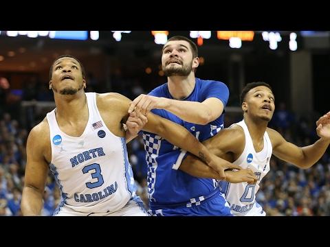 Kentucky vs. North Carolina Tar Heels and Wildcats trade incredible shots late