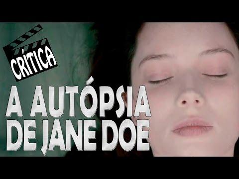 A Autópsia de Jane Doe 2016 Crítica Rápida