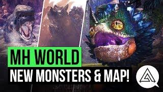 Monster Hunter World | NEW Monsters, Desert Map & More!