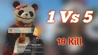 ROS ; 19 Kill Solo Vs Fireteam / 1vs5 19 Kill   Full Gameplay Ep21