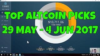 TOP ALTCOIN PICKS THIS WEEK!   29 May - 4 JUN 2017  
