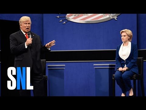 Donald Trump vs. Hillary Clinton Town Hall Debate Cold Open SNL