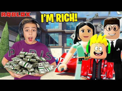 Ferran got ADOPTED by a Billionaire in Roblox Brookhaven Royalty Gaming
