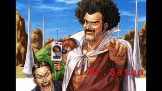 DBZ-Wrestling Rock with Lead (Mr.Satans Theme)