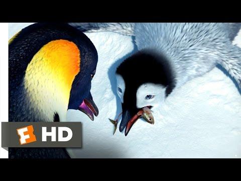 Happy Feet (2/10) Movie CLIP - Take the Fish (2006) HD