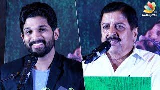 Allu Arjun's Tamil debut with Lingusamy | Sivakumar Speech